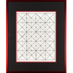 Richard Anuszkiewicz, Kompozycja geometryczna, 1968