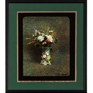 Jan Saudek, The story of flowers - zestaw pięciu fotografii, 1987