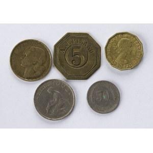 Monety Europejskie Obiegowe I Inne - 63 Sztuki
