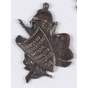 Odznaka Krajowy Inspektorat Zaciągu Do Wojska Polskiego 1917