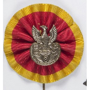 Orzełek Strzelecki Na Patriotycznej Kokardzie