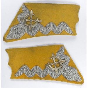 Para Łapek/patek Na Kołnierz Munduru Wz. 27