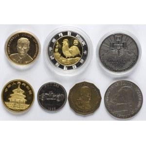 Zestaw 7 Medali Współczesnych