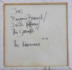 THE KRASNALS, Absolwent. The Graduate. Benjamin Braddock. Dustin Hoffman z cyklu Jews, 2016