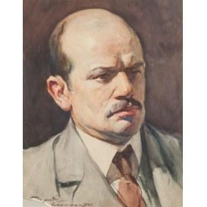 Stanisław Janowski (1866 - 1942), Portret Mec. Bednarskiego we Lwowie, 1920 r.