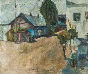 Janina Neuman (Xx W.), Pejzaż, ok.1960 r.