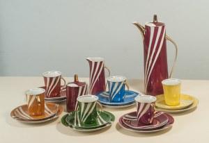 Wincenty Potacki ( 1904 - 2001), Serwis porcelanowy do kawy, ok. 1965 r.