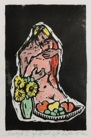 Stefania DRETLER-FLIN (1909-1994), Erotyk  I, lata 50. XX w.
