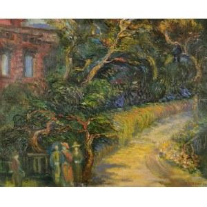 Maria DZIOPAK (ur. 1954), Spacer wśród drzew