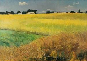 Alojzy BALCERZAK (ur. 1930), Zboża, 1998
