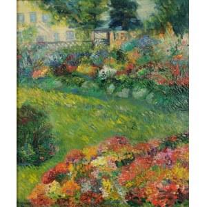 Maria DZIOPAK (ur. 1954), Kwiaty w ogrodzie, 1996