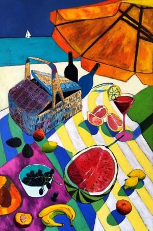 David Schab, Piknik na plaży, 2020