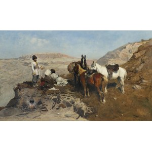 Wierusz-Kowalski Alfred, KAUKASKI ZWIAD, 1880