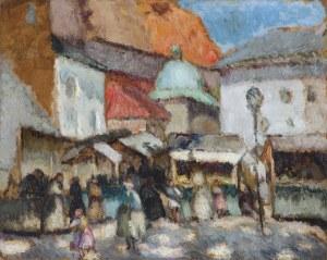 Eibisch Eugeniusz, TARG NA PLACU MARIACKIM W KRAKOWIE, 1920-1922