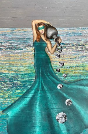 Agata PADOL, Mermaid I, 2019 r.