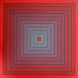 Izabela Kozłowska, Znikający kolor - czerwony, 2020