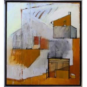 Iwona Stachura, Recykling szkicu. Żółty 4, 2015