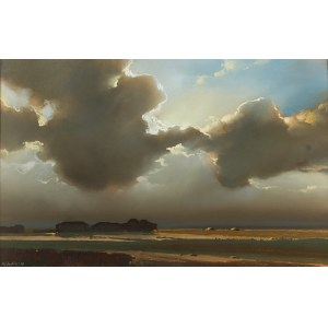 Marian Michalik (1947-1997), Pejzaż z chmurami, 1991 r.