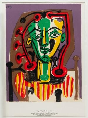 Pablo Picasso (1881 Malaga - 1973 Mougins), Figure au corsage raye