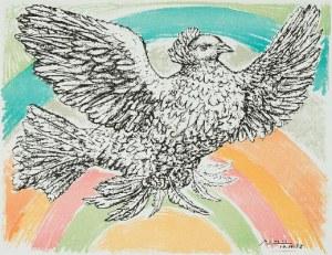 Pablo Picasso (1881 Malaga - 1973 Mougins), Gołąb, 1952 r.