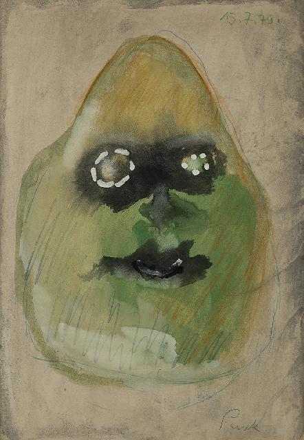 Jerzy Panek (1918 Tarnów-2001 Kraków), Autoportret, 1978 r.