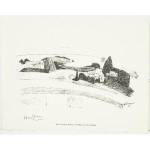 Henryk Hayden (1883 Warszawa - 1970 Paryż), Paysage du Mollien en Seine-et-Marne