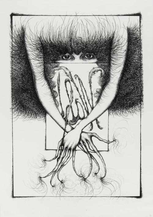 Alicja Wahl (ur. 1932 r.), Autoportret, 1975 r.