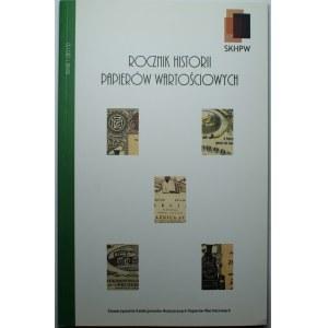 Rocznik Historii Papierów Wartościowych - nr 1 (2013)