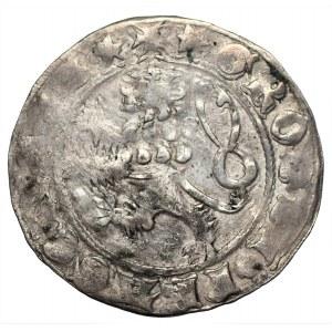 CZECHY - Karol IV Luksemburski (1346-1378) - grosz praski Kutna Hora -