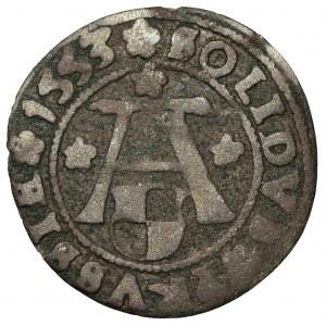 Prusy Książęce - Albert Hohenzollern (1525-1568) - szeląg 1553