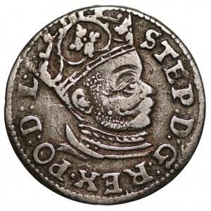 Stefan Batory (1576-1586) - trojak 1585 - Ryga -