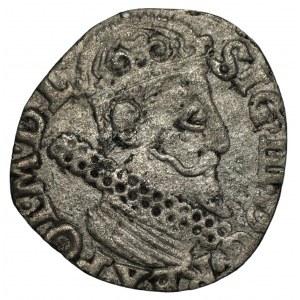 Zygmunt III Waza (1587-1632) - Trojak 1622 - Kraków - wybita na za małym krążku