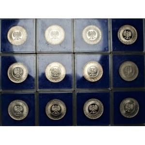 PRL - 12 sztuk 100 złotych (1973-1974) Mikołaj Kopernik