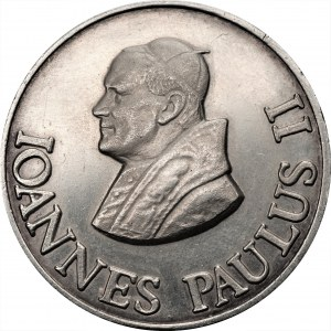Medal Czwarta Pielgrzymka 1991 - Jan Paweł II - Ag 999
