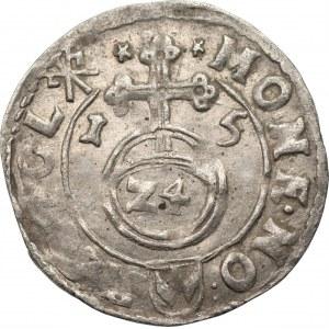 Zygmunt III Waza (1587-1632) - Półtorak 1615 Kraków