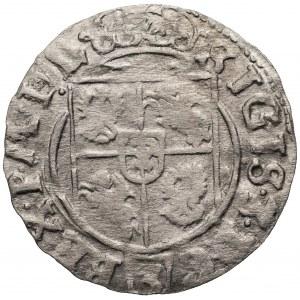 Zygmunt III Waza (1587-1632) - Półtorak 1625 Bydgoszcz – Rzadka dla tego rocznika mała korona (jak w szelągach).
