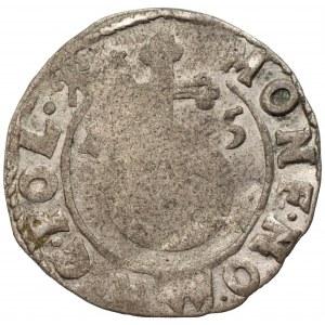 Zygmunt III Waza (1587-1632) - Półtorak z hakami 1615 - Kolekcja Górecki