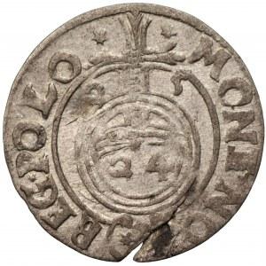 Zygmunt III Waza (1587-1632) - Półtorak 1625 mała korona - Kolekcja Górecki