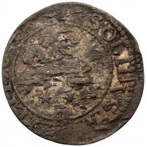 Zygmunt III Waza (1587-1632) - Szeląg Wilno Orzeł/Pogoń 1624 RZADKI - Kolekcja Górecki
