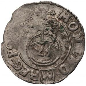 Zygmunt III Waza (1587-1632) - Półtorak z hakami 1616 - Kolekcja Górecki