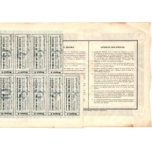 Towarzystwo Akcyjne Warszawskich Dróg Żel. Dojazdowych - Em.1 - 320 złotych 1929