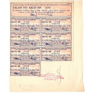 Ziarno Polska Wytwórnia Chleba Zdrowia i Młyn Walcowy - 10 złotych 1928 -