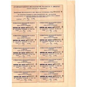 Stowarzyszenie Mechaników Polskich z Ameryki S.A. w Warszawie - Em.1. - 175 złotych 1933