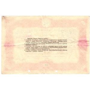 4 % List zastawny Poznańskiego Ziemstwa Kredytowego - 100 złotych 1925 -