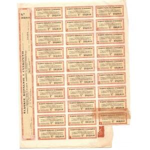 Śląskie Kopalnie i Cynkownie S.A. Lipny - 100 złotych 1937