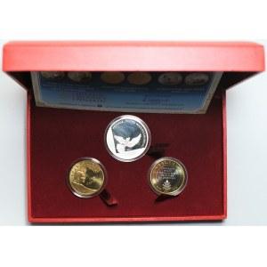 Zestaw 2 numizmatów + moneta - 30 rocznica pontyfikatu Karola Wojtyły