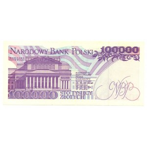 100.000 złotych 1990 - seria G
