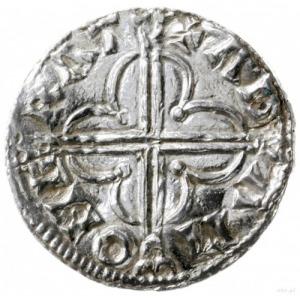 denar typu quatrefoil, 1018-1024, mennica Cambridge, mi...