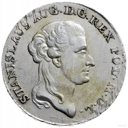 dwuzłotówka 1792, Warszawa; odmiana z literami M.V.; Pl...