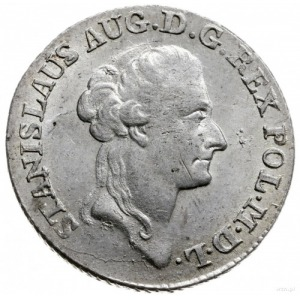 złotówka 1787, Warszawa; Plage 295, Berezowski 1.25 zł;...